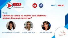Disfunção sexual na mulher com diabetes porque devemos conversar Live SBD