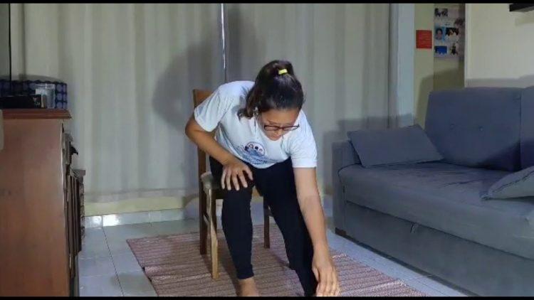 Atividade Física em casa Ep. 05 Alongamento Thalita Ponce